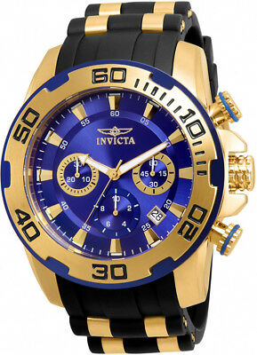 $79.95 • Buy Invicta Men's Pro Diver Chrono 100m Stainless Steel/Black Silicone Watch 22313