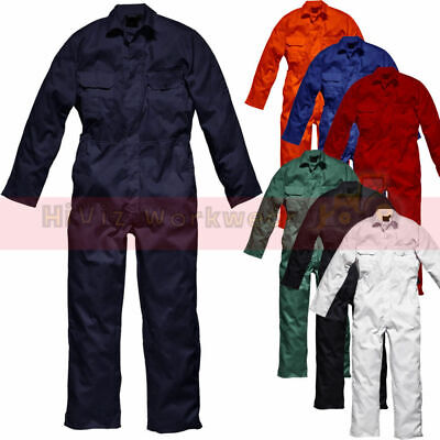 $19.01 • Buy Boilersuit Safety Work Coveralls Stud Overalls Mens Tuff Workwear Unisex 240gsm