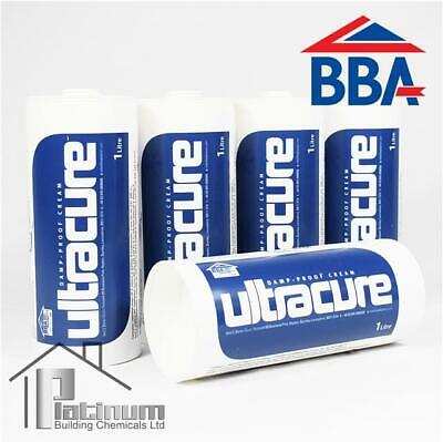 £79.50 • Buy ULTRACURE DPC Injection Cream 5 X 1L | Damp Proof Course Rising Damp Treatment