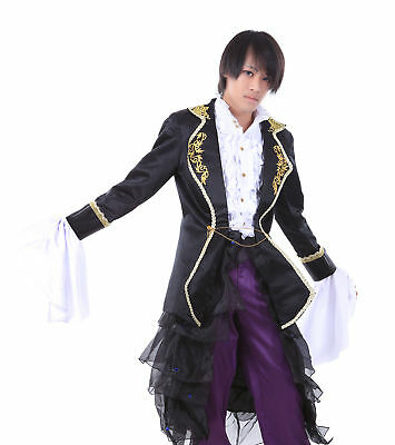 $116.98 • Buy Vocaloid Family Cosplay Costume The Sandplay Singing Of The Dragon Gakupo Outfit
