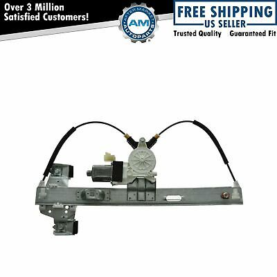 $52.93 • Buy Rear Power Window Regulator W/ Motor Passenger Side RH For 04-08 Grand Prix