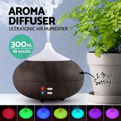 AU24.56 • Buy Essential LED Oil Ultrasonic Aroma Aromatherapy Diffuser Air Humidifier Purifier