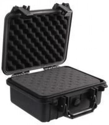 £83.59 • Buy Large Waterproof Hard Case With Foam Insert Secure Travel Camera Carry Box Black