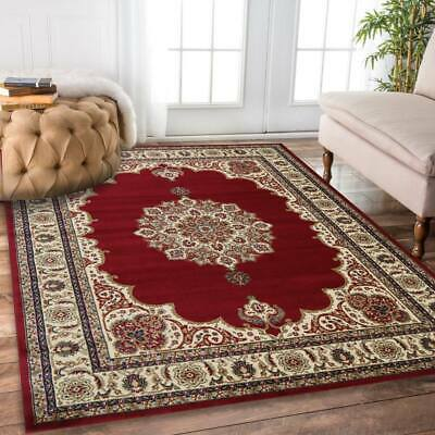 AU105 • Buy Classica 5771 Rug Red Large Traditional Persian Rug 5 SIZES Carpet FREE POST*