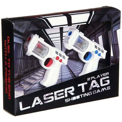 £15.49 • Buy Laser Tag 2 Player Lazer Combat Space Blaster Mini Toy Guns Game With Sound FX