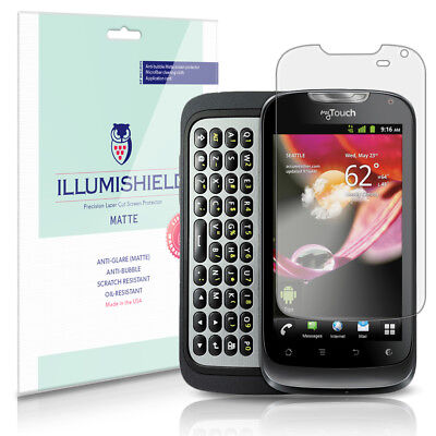 ILLumiShield Anti-Glare Screen Protector 3x For Huawei MyTouch Q 2012 (T-Mobile) • 7.92£