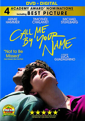 AU18.78 • Buy Call Me By Your Name (REGION 1 DVD New)
