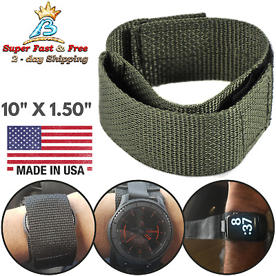 $19.13 • Buy Military Tactical Covered Watch Band Wide Protection Strap Watchband Foliage USA