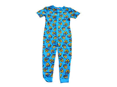 Boys Jump Suit Pyjamas Despicable Me Minions 2-14 Years Short Sleeved  • 7.95£