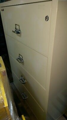 Fireking Fireproof Verticle 4 Drawer File Cabinet  • 500$