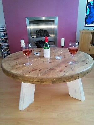 Cable Drum Coffee Table • 150£