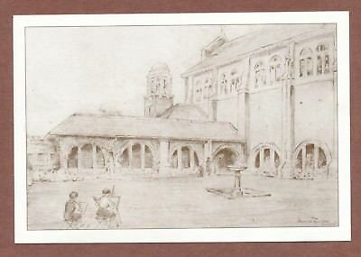 Roedean School  Cloisters, 1950s Drawing  Reprint,  Headmistress  Signed    X283 • 5.39£