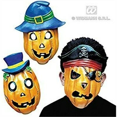 Pumpkin Mask Half Face Animals Masks Eyemasks & Disguises For Masquerade Fancy • 6.89£