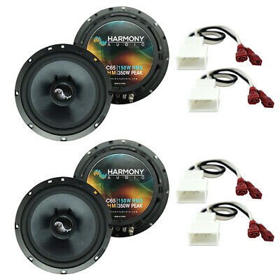 Fits Toyota Tundra 2003-2014 Factory Speakers Replacement Harmony (2) C65 Kit • 119.95$
