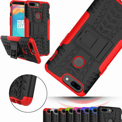 AU5.40 • Buy Shockproof For OnePlus 5T Case Dual Layer Hard Protective Kickstand Phone Cover