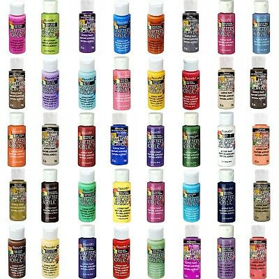 DecoArt - Acrylic Paint Crafters - All Purpose 59ml  2oz - 60 Colours • 2.98£