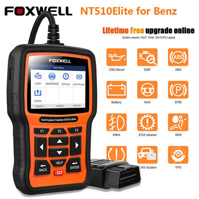 $139 • Buy All System OBDII Scanner Car EPB ABS DPF Reset Diagnostic Tool For Mercedes Benz