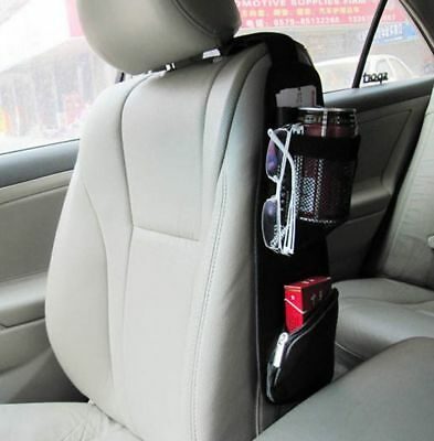 $7.59 • Buy Auto Car Seat Side Storage Organizer Interior Multi-Use Bag Accessory 37*11cm