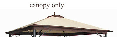 AU167 • Buy Mimosa REPLACEMENT CANOPY FOR DUBAI GAZEBO 3x3m Water Resistant NATURAL