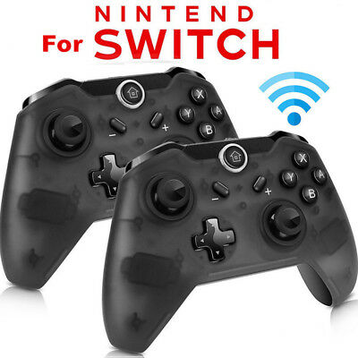 $22.75 • Buy 1x 2x Wireless Pro Controller Gamepad Joypad Remote For Nintendo Switch Console