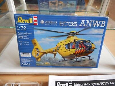 Modelkit Revell Airbus Helicopter EC135 ANWB On 1:72 In Box • 8.60£