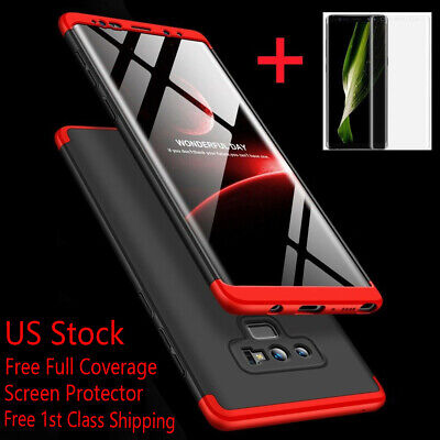 $ CDN11.41 • Buy For Samsung Galaxy Note 20/10/9/8/S10/S9/S8 Plus S20 Ultra Shockproof 360° Case