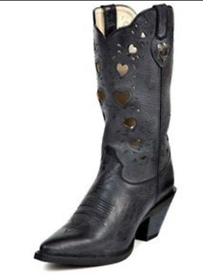 $79.95 • Buy DURANGO Boots Crush Heartfelt Women's Western Cowgirl Cowboy AntiqueBlack RD3480