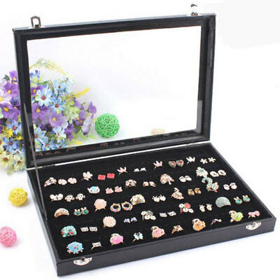 £12.69 • Buy 100 Earring Ring Holder Jewellery/Necklace Display Storage Gift Box Show Cases