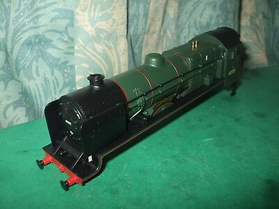 Hornby Ex Lms Unrebuilt Patriot Green Loco Body Only - Caernarvon • 34.95£