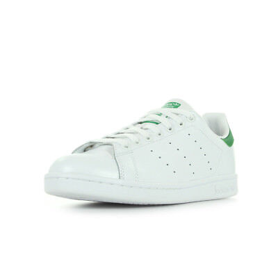 5d4c62e0283d5 Chaussures Baskets Adidas Homme Stan Smith Taille Blanc Blanche Cuir Lacets  • 69.99€
