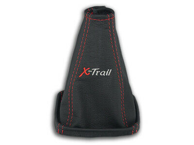 AU30.88 • Buy For Nissan X-trail T30 04-07 Gear Shift Boot Gaiter Leather Embroidery Red