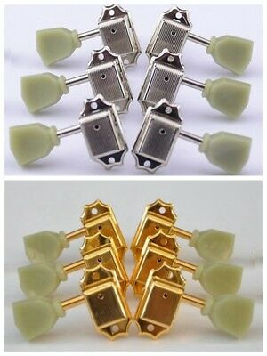 AU13.88 • Buy Vintage Guitar Tuners String Tuning Pegs Heads Button For Les Paul