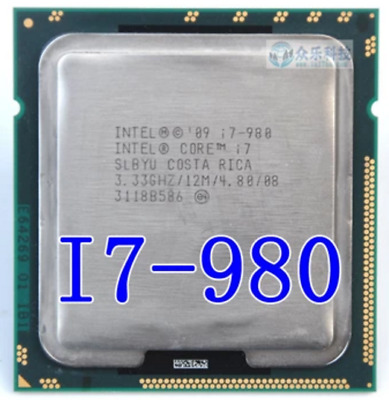 $ CDN108.71 • Buy Intel Core I7-980 3.33GHz Six Core LGA 1366 CPU Processor