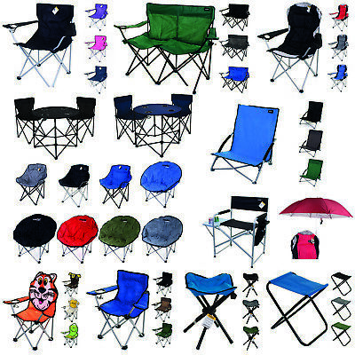 £34.99 • Buy Camping Chairs Folding Moon Camping Director Luxury Elite Padded Fishing Outdoor