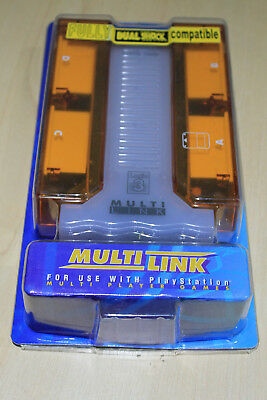 Multi Link 4 Player  Sony Playstation  PS1 PS 2 New Logic 3  • 6.99£