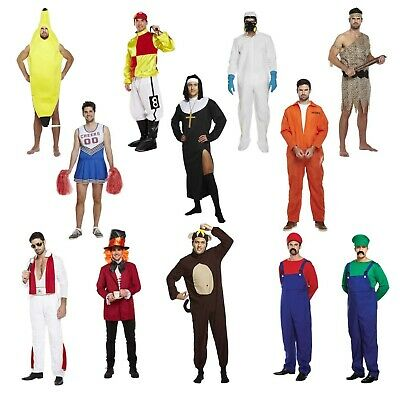 Adult Male Fancy Dress Dressing Up Stag Do Freshers Week Costume Party Outfit • 18.99£