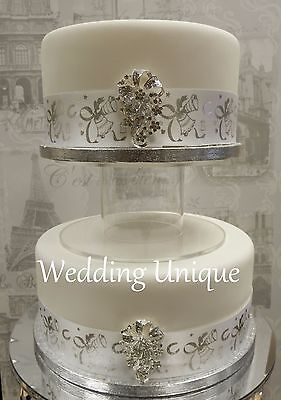 8  Acrylic Separator Cake Stand, Wedding Cake Stand, Perspex Cake Stand • 19.99£