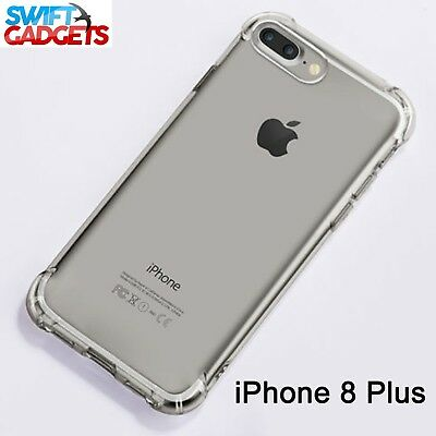 £2.95 • Buy For IPhone 8 PLUS Case Shock Proof Crystal Clear Soft Silicone Gel Bumper Cover