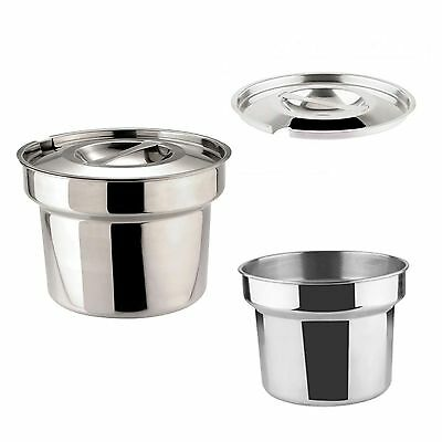 £14.95 • Buy Zodiac Sunnex Round Bain Marie Pot 4 Litre Pan OR Lid Catering Food Warmer NEW