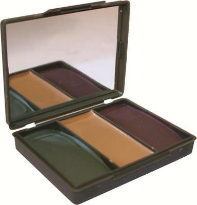 Face Paint Camouflage 3 Colour Compact Military Issue Non Irritant ~ New 2019 • 3.99£