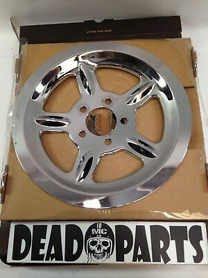 Harley Sportster Chrome Rear Pulley Cover Cap 91746-03 • 50$