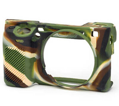 $ CDN48.38 • Buy EasyCover Silicone Skin Soft Case Cover Sony A6300 A6000 A6400 - Camouflage (UK)
