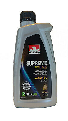 $ CDN131.62 • Buy Petro-Canada SUPREME Synthetic Motor Oil 5W-30, 12 X 1L Case