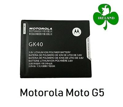 AU18.51 • Buy For Motorola Moto G5 Internal Battery Replacement Battery New GK40 3.8V 2800mAh