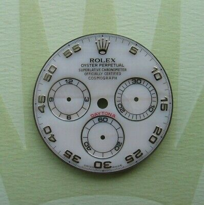 $ CDN2622.76 • Buy Genuine Rolex Daytona MOP Dial Mother Of Pearl 116519 116509 116520 White Gold