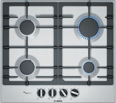 £299 • Buy BOSCH Serie 6 PCP6A5B90 Gas Hob - Stainless Steel - Currys