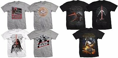 Star Wars Force Awakens Official T-Shirts Rogue One The Last Jedi • 2.99£