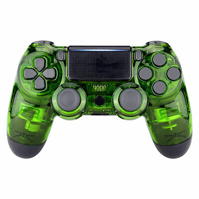 AU22.43 • Buy Custom Crystal Green Front Housing Shell Cover For PS4 Slim Pro Game Controller