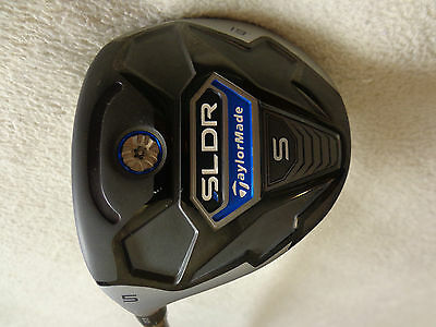 $ CDN168 • Buy LH - TaylorMade SLDR S 5/19* Wood W/ Speeder 65 Senior Graphite Shaft