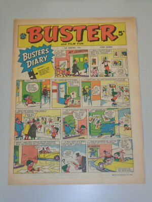 Buster 9th February 1963 Fleetway British Weekly Comic* • 11.99£